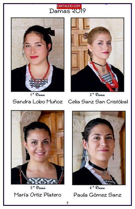 Damas 2019 Sandra Lobo Celia Sanz Maria Ortiz Paula Gómez